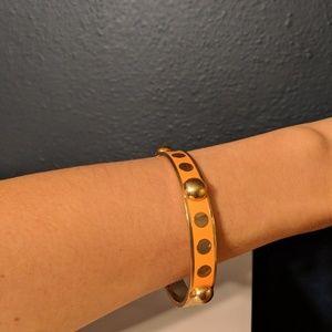 C. Wonder Jewelry - C. Wonder Dancing Dots Enamel Bangle Bracelet